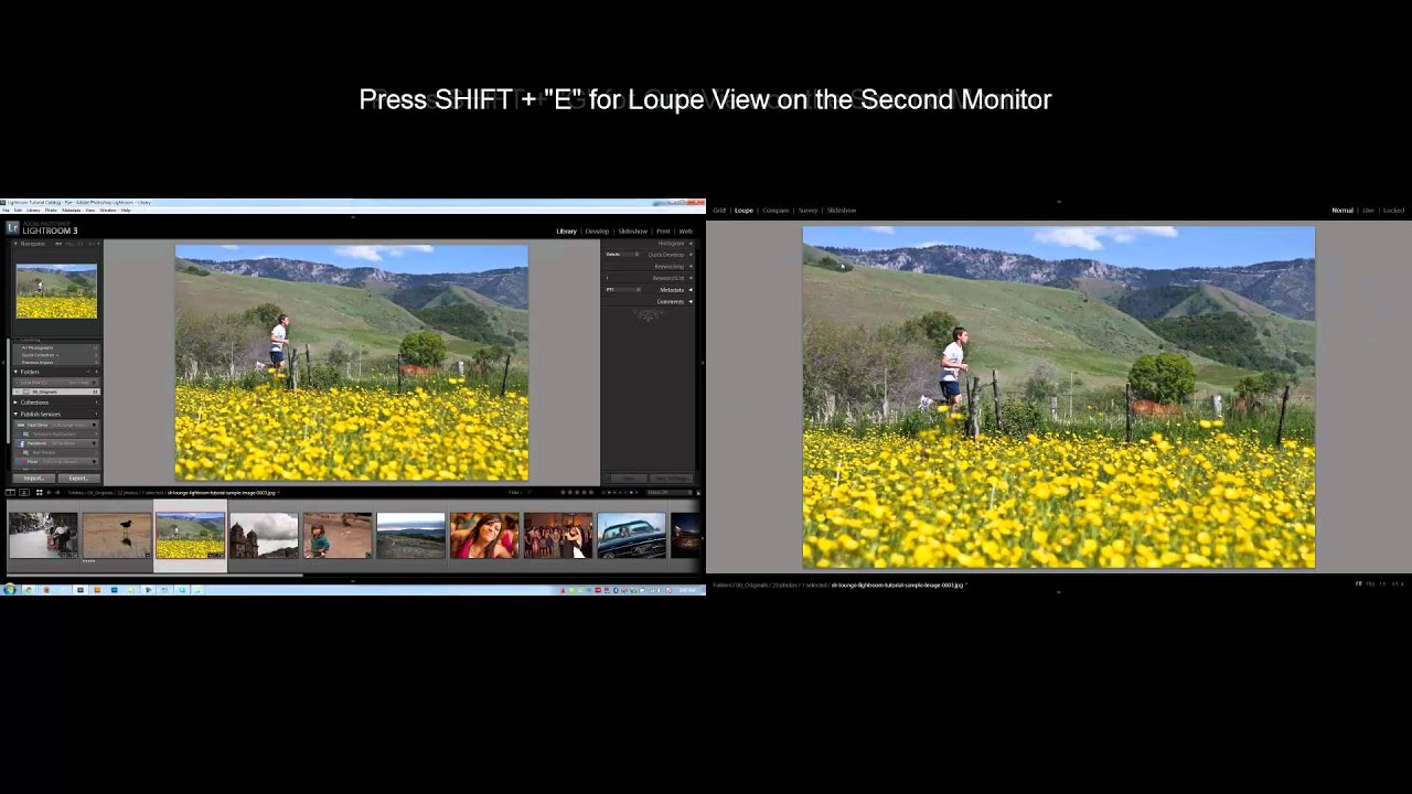 Important view menu features in lightroom 3.