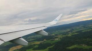 klm kl1150 embraer 190 oslo amsterdam safety takeoff heavy crosswind landing at polderbaan