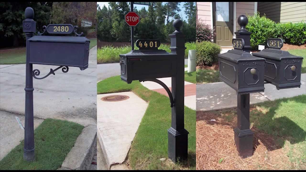 custom metal mailbox. Fine Mailbox New Mailboxes Alpharetta GA  Custom Metal Mailbox Installation And
