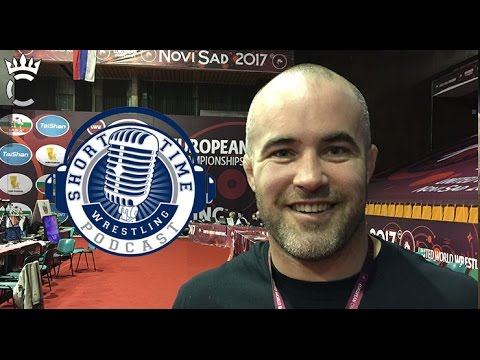 Hanging out with Andy Hrovat in Serbia at the European Championships - ST328
