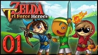 Let's Play Zelda Triforce Heroes - Ep 1 : Trois Fois Plus de Fun !