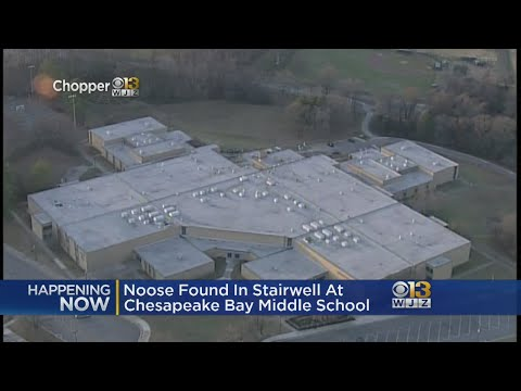 Another Noose Found At Chesapeake Bay Middle School