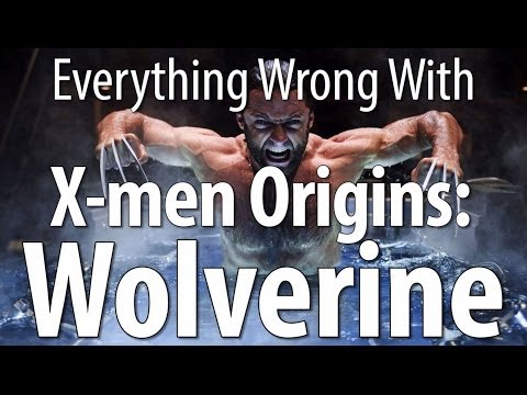 Everything Wrong With X-men Origins: Wolverine In 14 Minutes Or Less poster