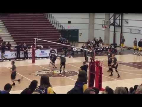 Grant MacEwan Vs University of Alberta (Mens Volleyball Warmup)  Canada West Volleyball