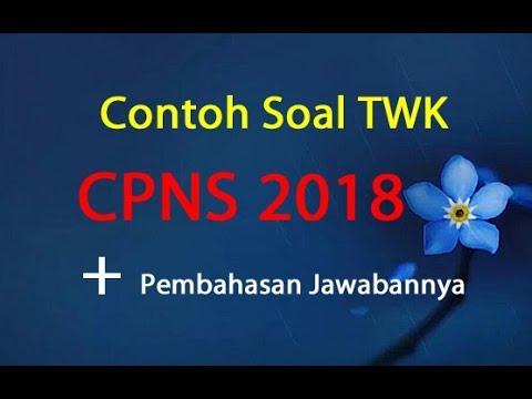 Contoh Soal TWK CPNS 2018 dan Jawabannya Pembahasan