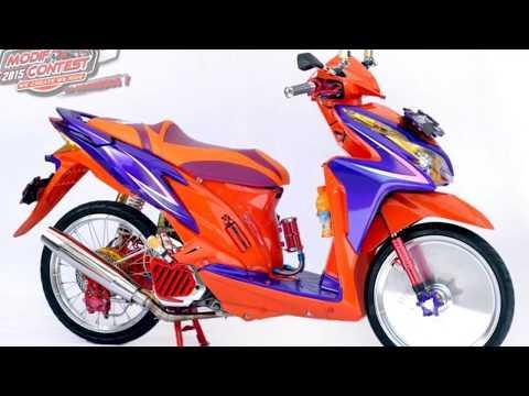 Modifikasi Honda Vario Techno 125 Matic Kece Youtube
