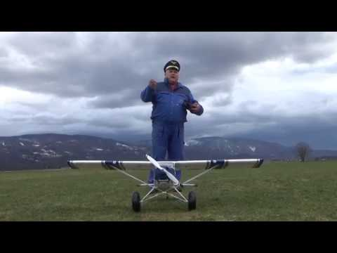 Avios Grand Tundra 1700mm Blue/Silver PNF Maiden flight