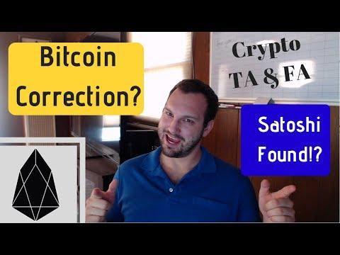 Bitcoin Swift Correction!? SEC Delays BTC ETF! Satoshi Finally Found? RPD Giveaway! Crypto TA & FA thumbnail