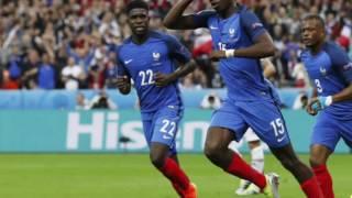 Frankreich : Island 5:2 Highlights EM 2016