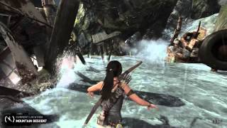 Tomb Raider: Definitive Edition PS4 gameplay