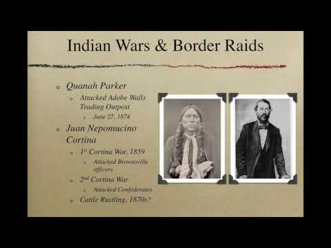 Mini Lecture: Texas and Western Expansion