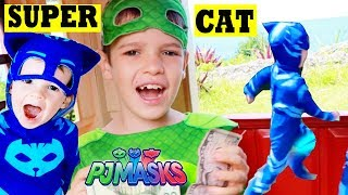 PJ Masks Catboy SUPER CAT Speed! Gekko & Catboy Racing Pretend Play
