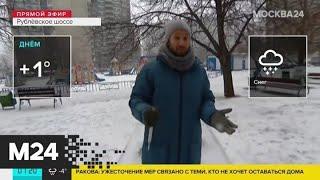 """""""Утро"""": снег ожидается в столице днем 31 марта - Москва 24"""