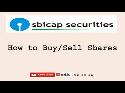 How To Buy Or Sell Shares On SBI Smart
