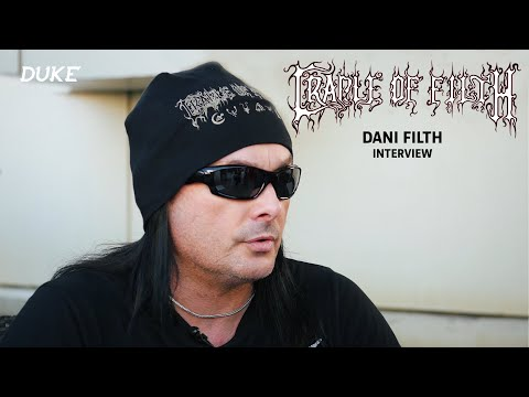 Cradle of Filth - Interview Dani Filth - Paris 2017 - Duke TV [VOSTFR]
