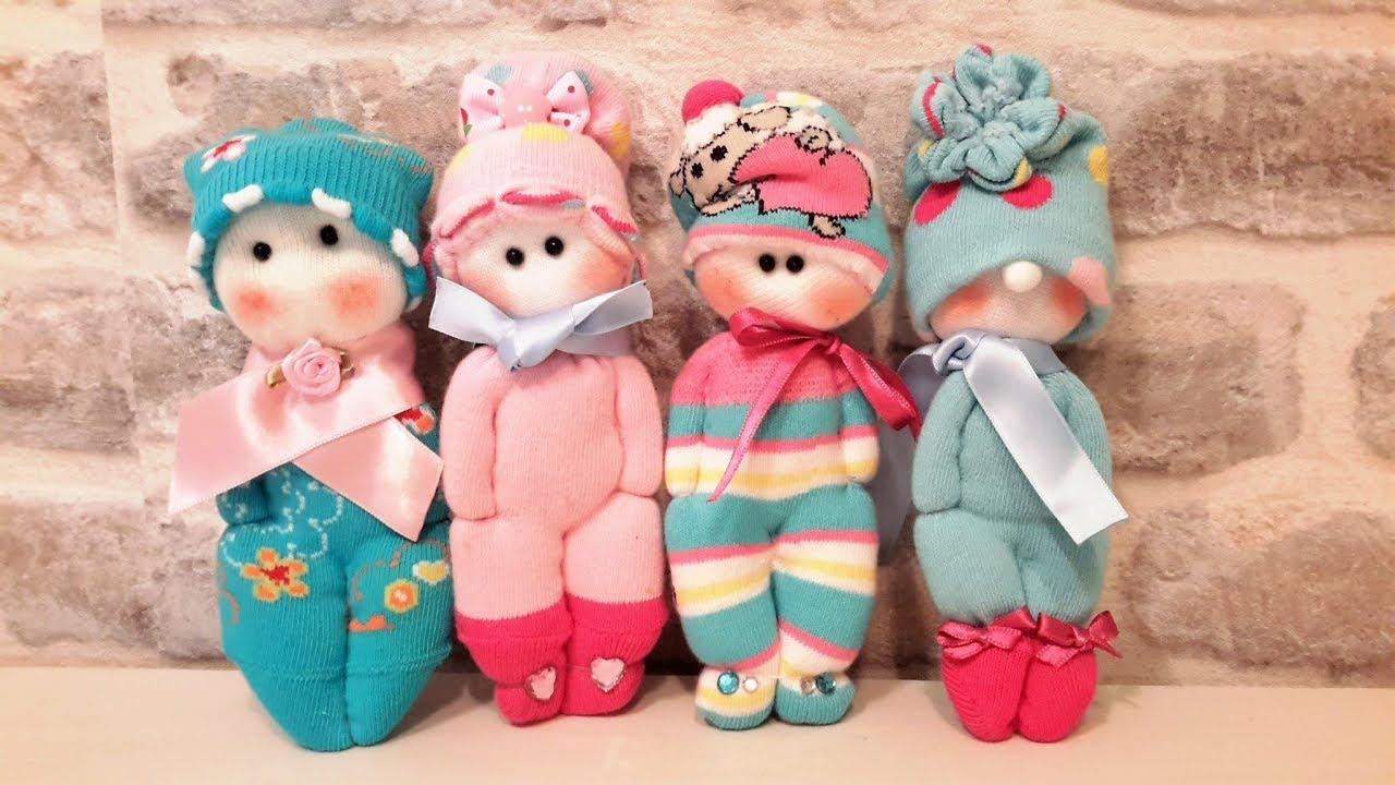 Картинки куклы своими руками из носок своими руками