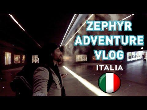 Zephyr Adventure Vlog - ITALIA, Cremona. 2017