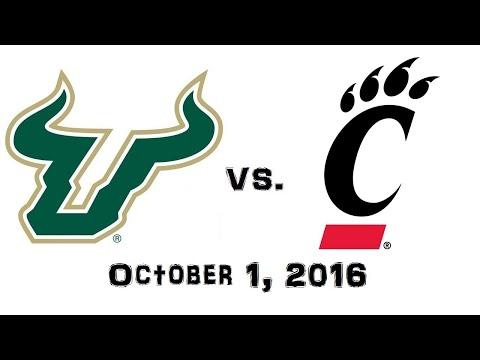 October 1, 2016 - South Florida Bulls vs. Cincinnati Bearcats Full Football Game 60fps