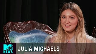 Julia Michaels Gets Emotional Over Chester Bennington & Working on Linkin Park's 'Heavy' | MTV News
