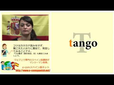 Ecomスペイン語 発音の基礎入門:アルファベットと単語