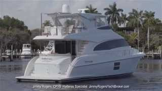 New 2015 Hatteras 60 Motor Yacht Walkthrough