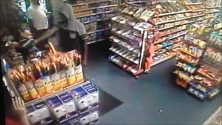 Surveillance video: Mike's Corner Store robbery