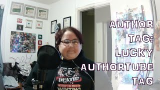 Author Tag: Lucky Authortuber Tag [CC]