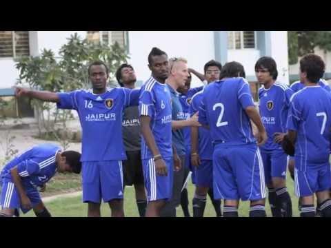 Jaipur Football Club on tour