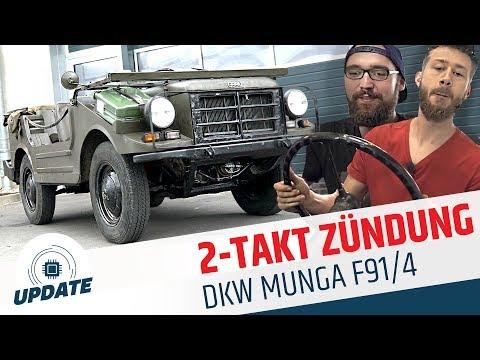 2-TAKT ZÜNDKABEL erneuern DKW MUNGA F91/4 | Wie funktioniert der 2-Takt-Motor? | UPDATE | MOVE IT