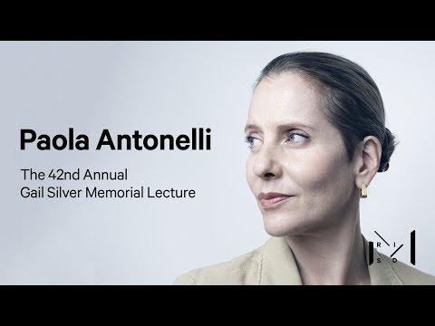 Silver Memorial Lecture 2018: Paola Antonelli