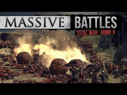 Gaul on Fire - 2 vs 3 Siege (Massive Battles)