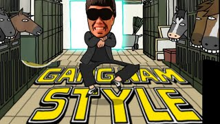 Repeat youtube video PSY - GANGNAM STYLE (강남스타일) PARODY! KIM JONG STYLE! _ Key of Awesome @63 Chipmunked version
