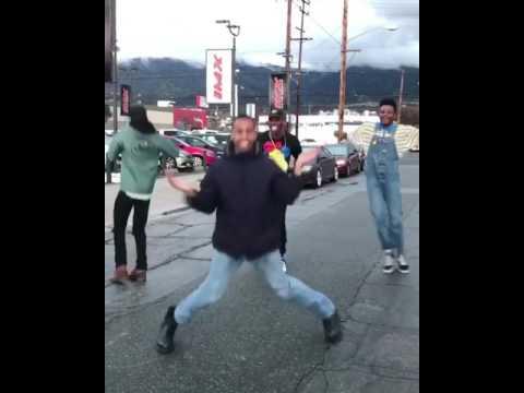 @jayversace Dancing in the street w Friends