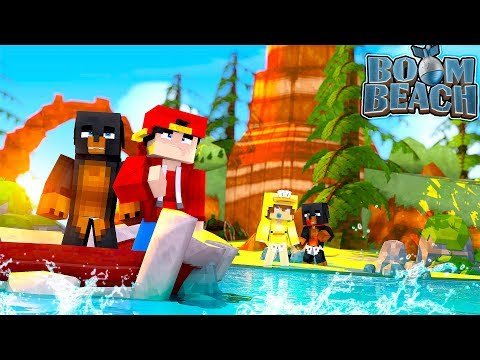 Minecraft Boom Beach  COLONEL ROPO & GENERAL JACK INVADE ISLANDS!!!