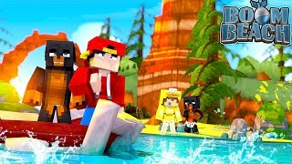 Minecraft Boom Beach - COLONEL ROPO & GENERAL JACK INVADE ISLANDS!!!