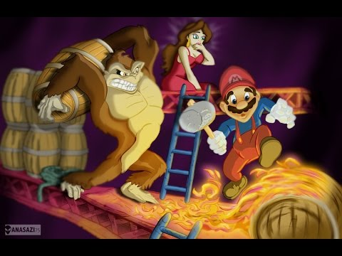 Donkey Kong Remake - Gameplay (PC)