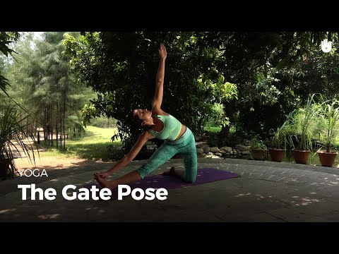 Learn the Gate Pose Parighasana | Yoga