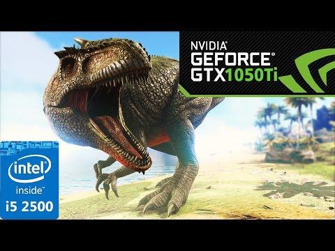 ARK: Survival Evolved | GTX 1050 Ti | i5 2500 | Low vs
