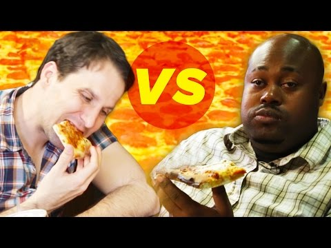 Thumbnail: Drunk Vs. Stoned: Pizza Eating Challenge • The High Guys