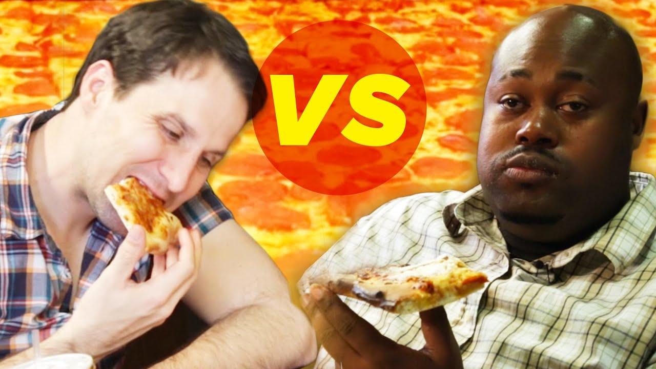 Drunk Vs. Stoned: Pizza Eating Challenge