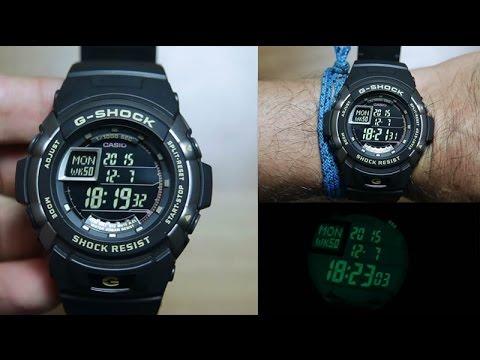 Часы Casio G-7710-1E Часы Romanson TL0338MW(BK)