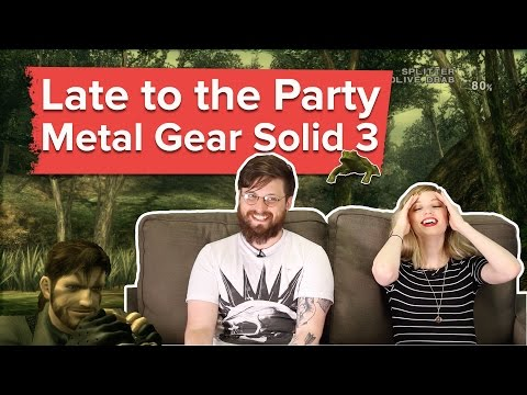 Let's play Metal Gear Solid 3: Snake Eater -  Late to the Pa