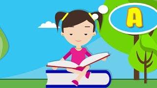 Алфавит в Стихах для Детей - Буква А. Развивающее Видео для Малышей. Русский Алфавит для Детей