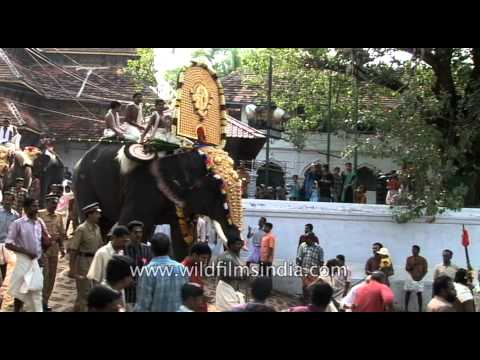 Thrissur Pooram festival,  Kerala