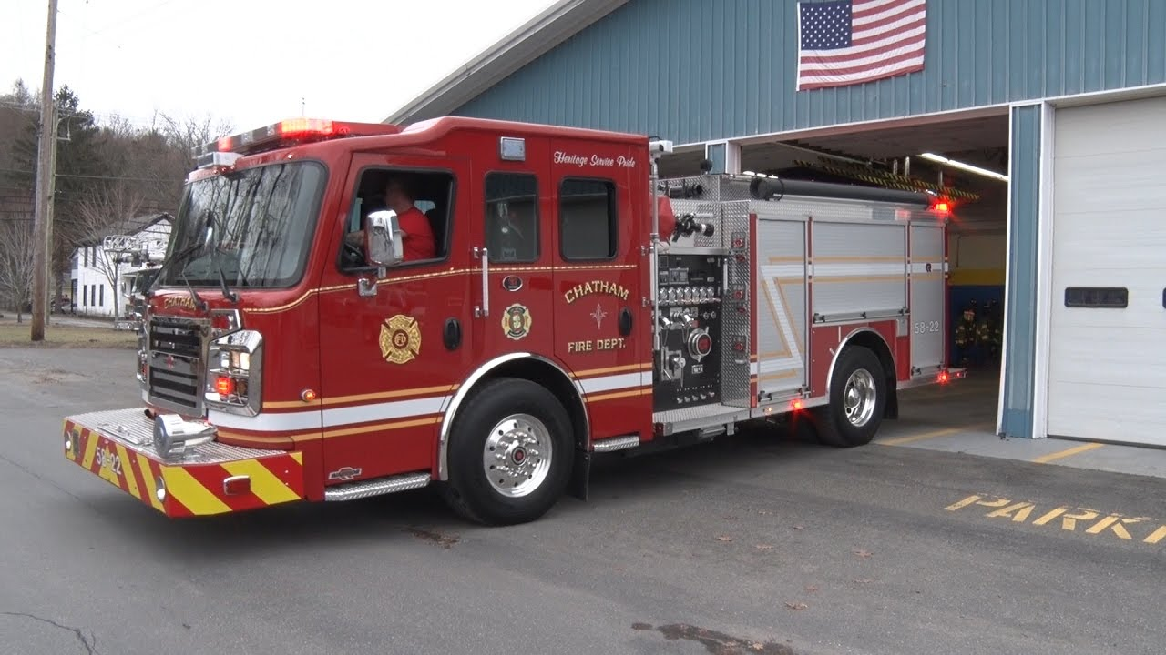 Chatham Ny Fire Department Engine 58 22 Dedication 1 14 17