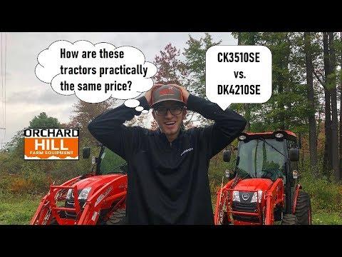 Kioti CK3510SE HST Cab Vs. Kioti DK4210SE HST Cab Tractors - Nearly The Same Price?
