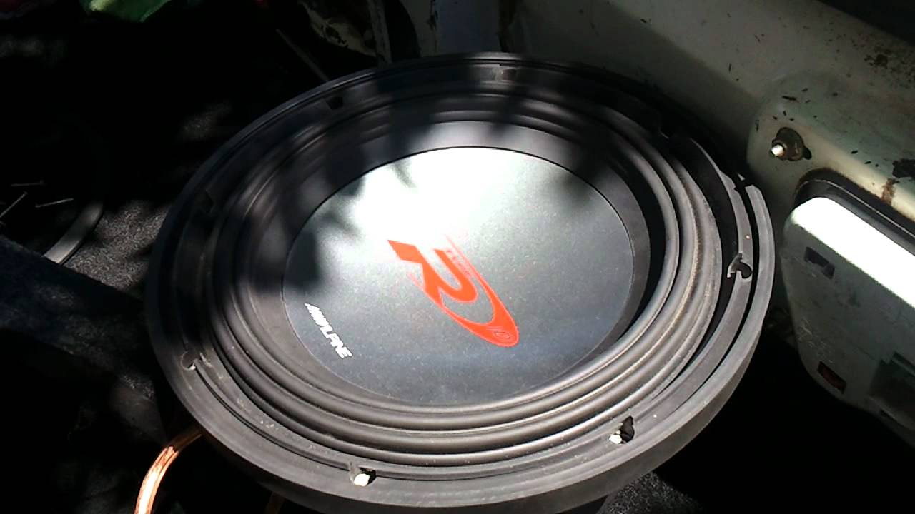 Blown Alpine Type R Youtube 12 Inch Subwoofers Wiring For The 10