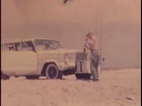 Cape Hatteras Surf Fishing at the Point 1960's #1