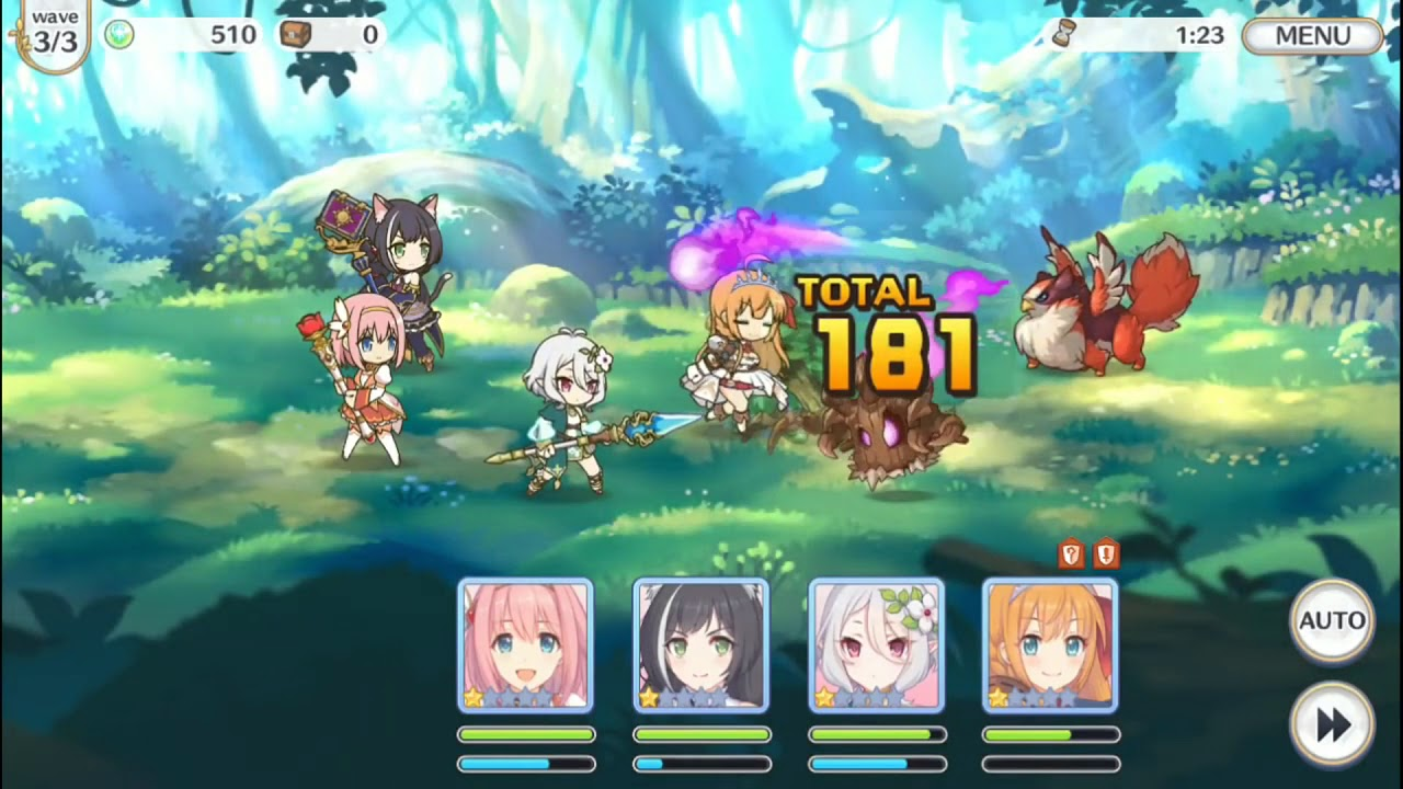 Princess Connect Re:Dive Anime Gameplay - TRAILER [ プリンセス ...