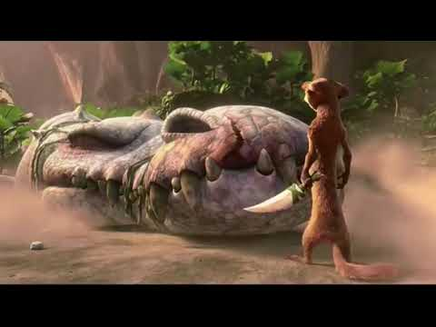 Ice Age 3: Dawn Of The Dinosaurs - Rudy Fight But With Jurassic Park/World Sound Effects